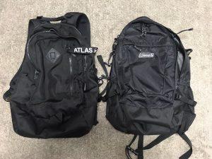コールマン アトラス30とウォーカー33
