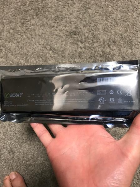 ThinkPadx240のバッテリー