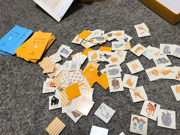 カガクノミカタのカードゲームに入っているもの
