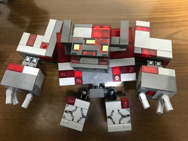 レッドストーンの怪物のレゴ