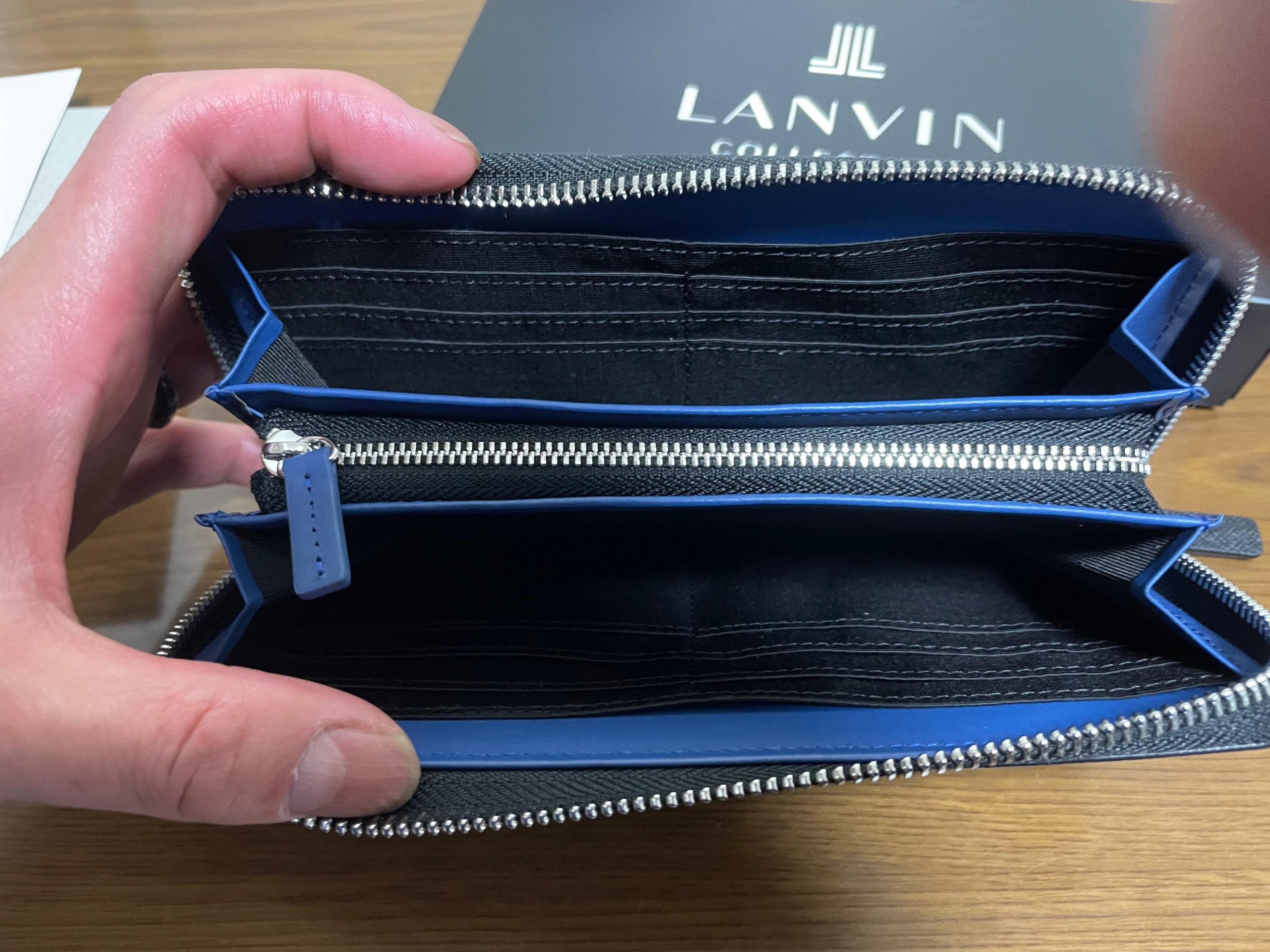 ランバンコレクションの財布の中
