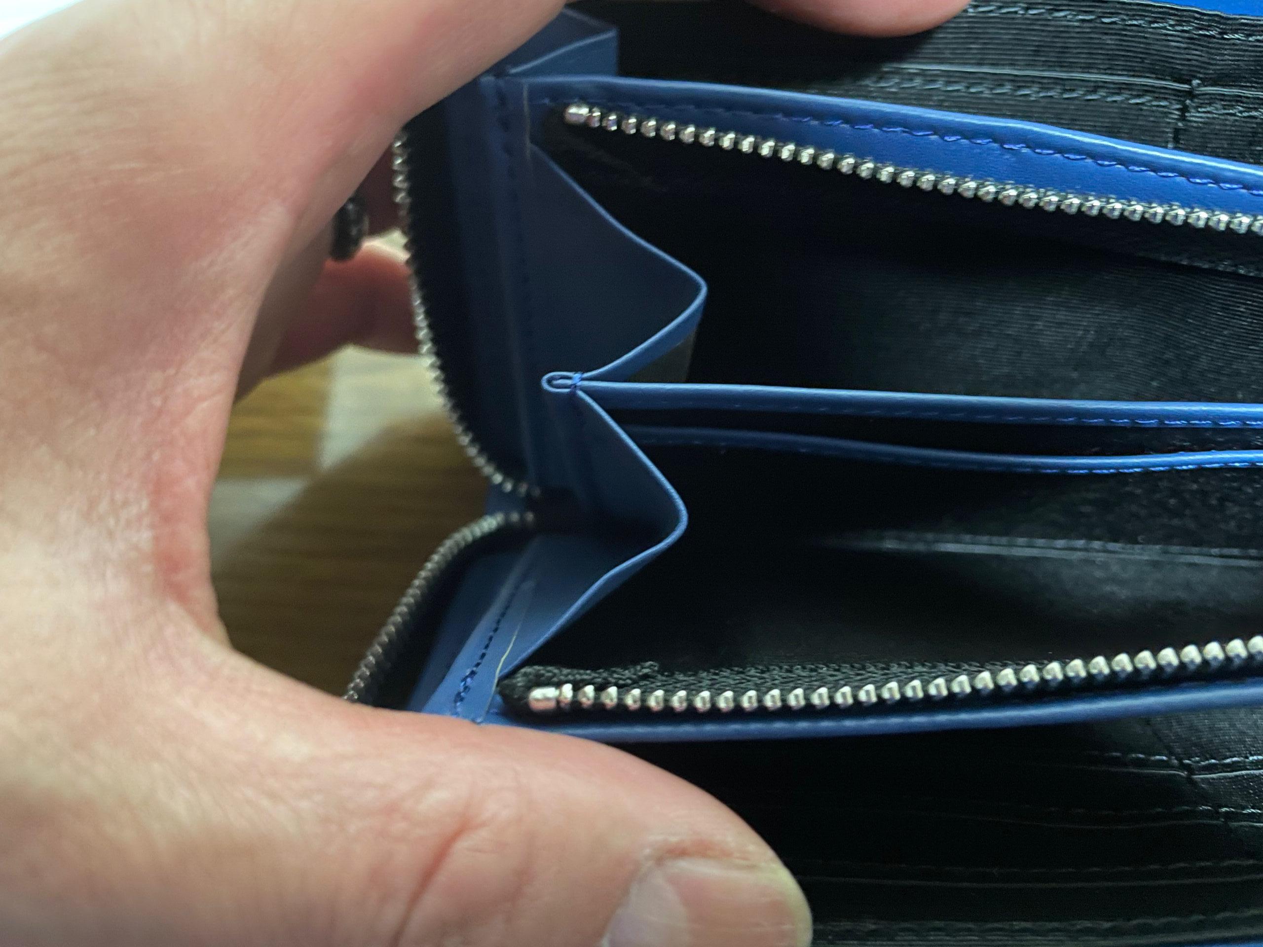 ランバンコレクションの財布、小銭を入れるところが広い