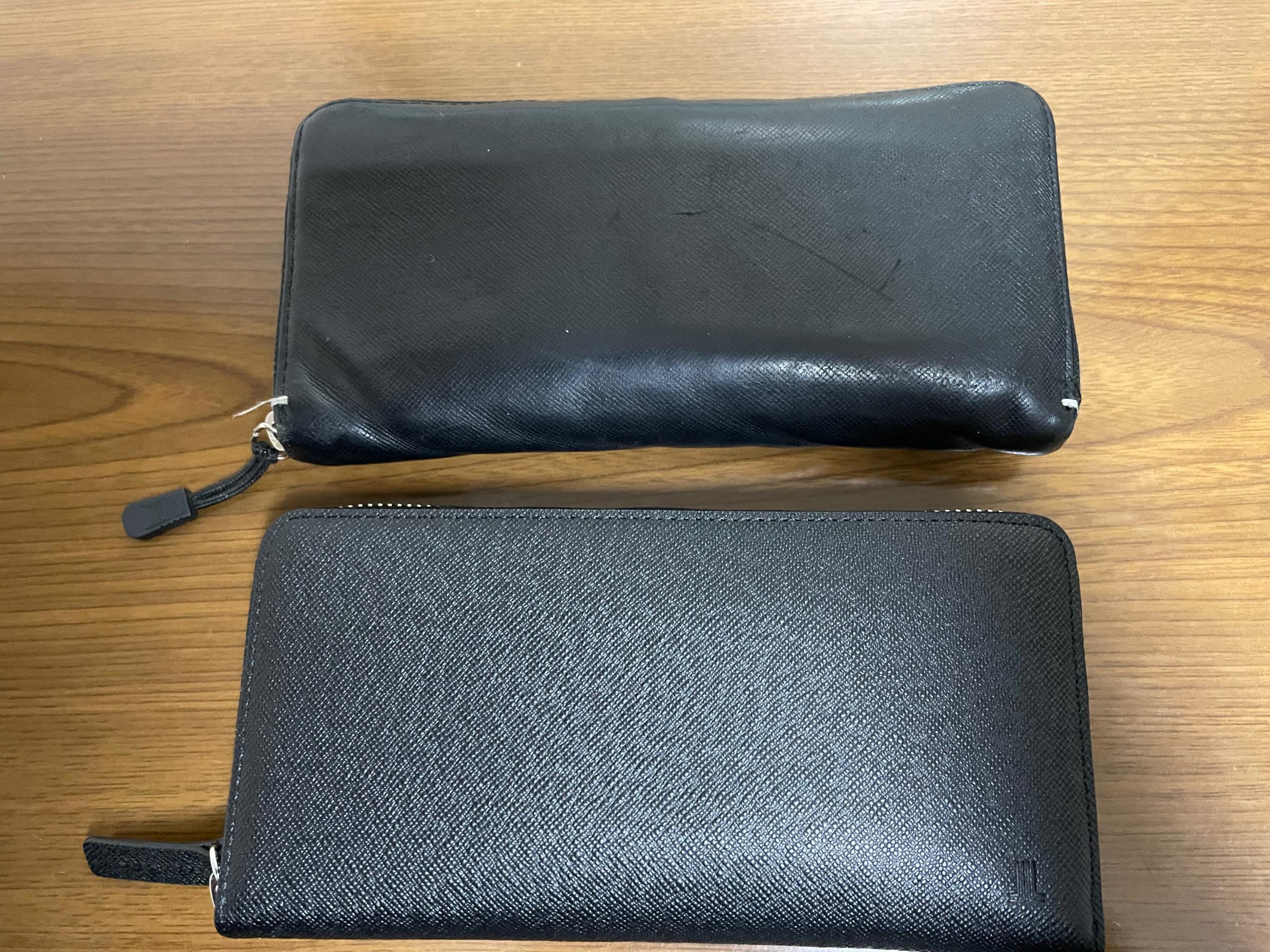 ポールスミスの財布とランバンコレクションの財布の比較